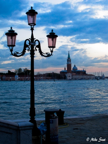 Day's end in Venice