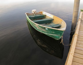 IMG_8959 - Green boat - 14 x 11